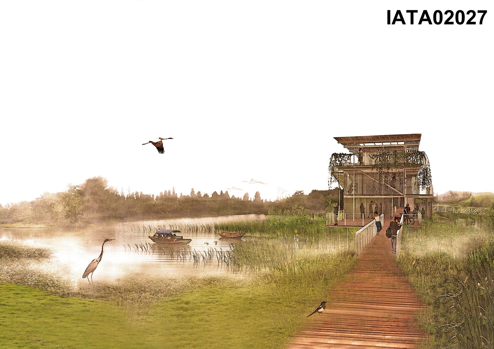 Museum on the wetland By Ana Olalla Melián - Sheet2