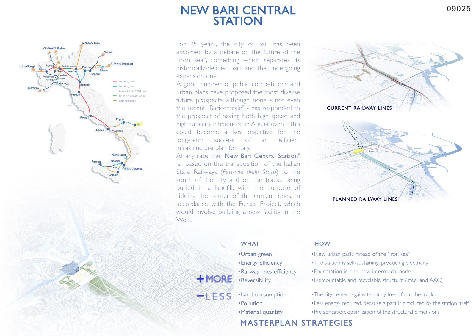 New Bari Central Station By Maurizio Barberio - Sheet1