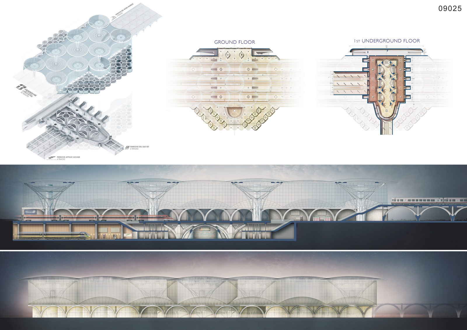 New Bari Central Station By Maurizio Barberio - Sheet3
