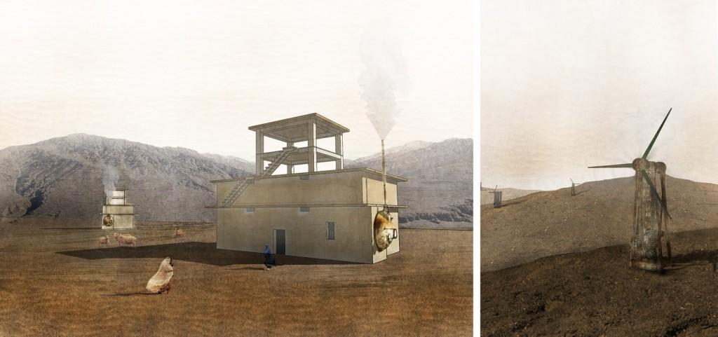 Energy Warehouse & Scrap Turbine