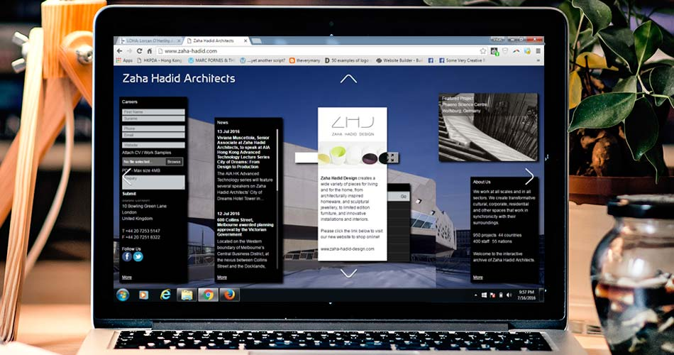 Top 10 architecture studio websites of 2016 for Best architects websites