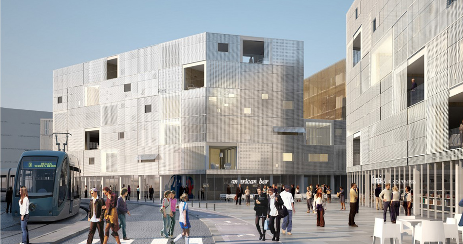 79 Collective Housing Units Begles | LAN Architecture U2013 Rethinking The  Future U2013 RTF