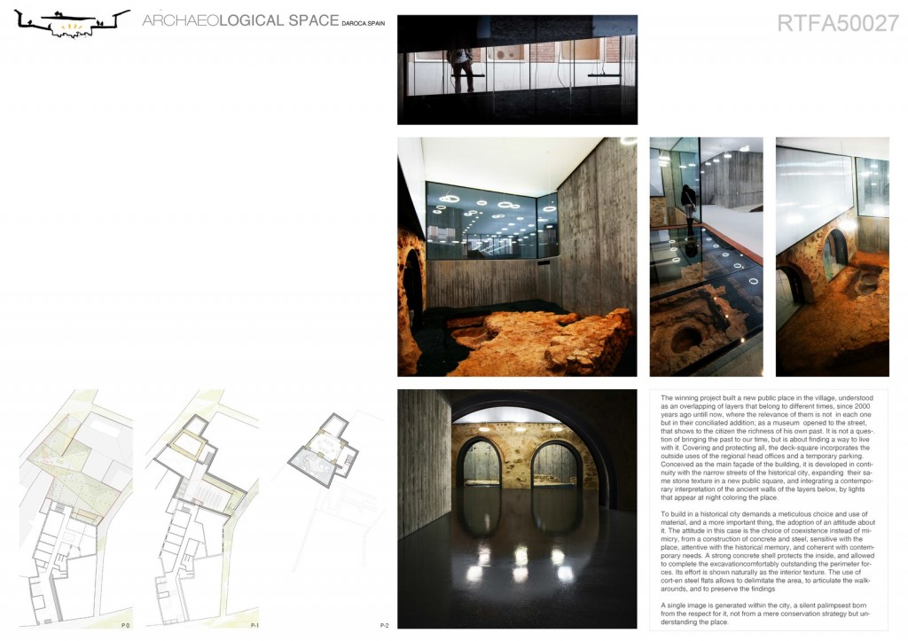 ARCHAEOLOGICAL SPACE (4)