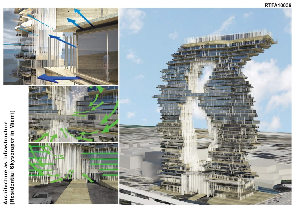 Architecture as Infrastructure [Residential Tower in Miami] (3)