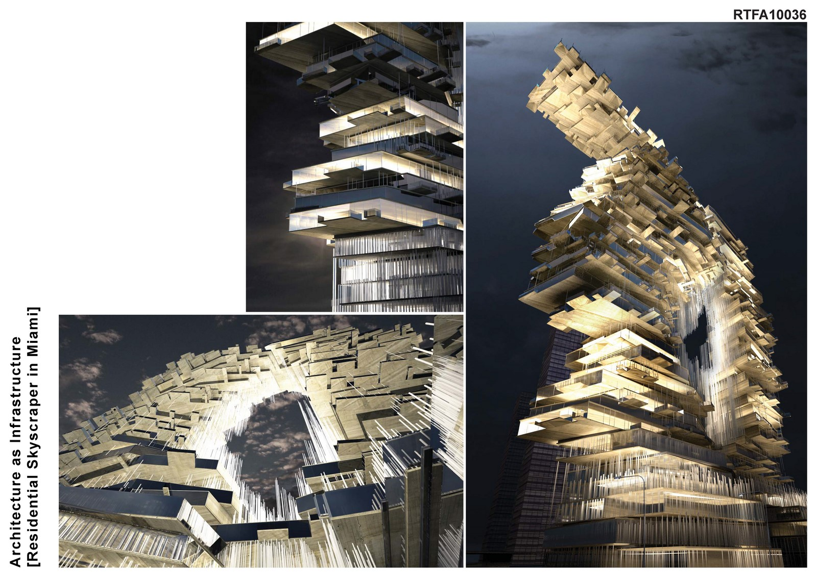 Infrastructure As Architecture : Residential tower in miami bluarch architecture