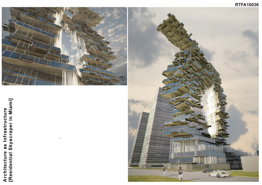 Architecture as Infrastructure [Residential Tower in Miami] (6)