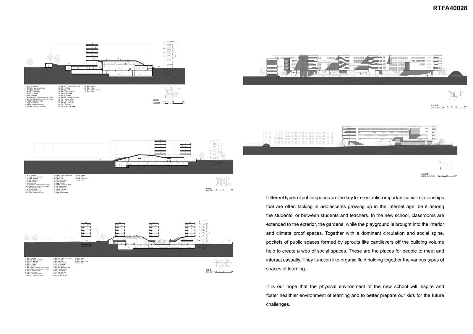 Garden School By Open Architecture - Sheet3