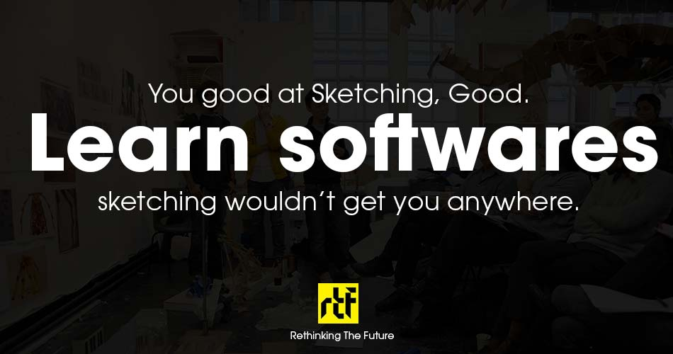 10 Worst welcome notes for Architecture Students - Sketching vs Software.