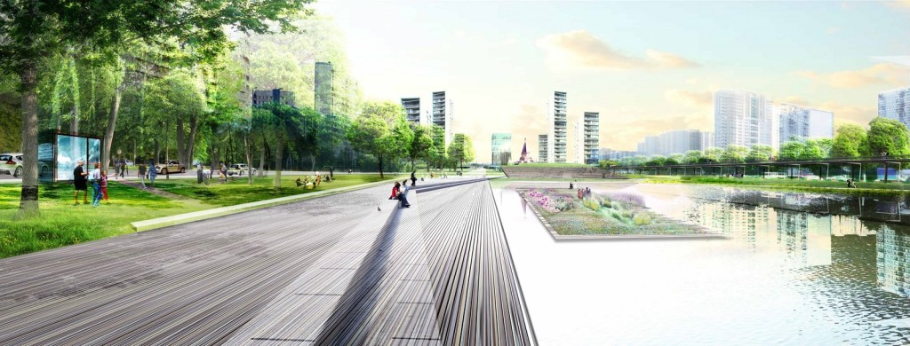 Green River Brateevo _ OKRA Landscape Architects 3
