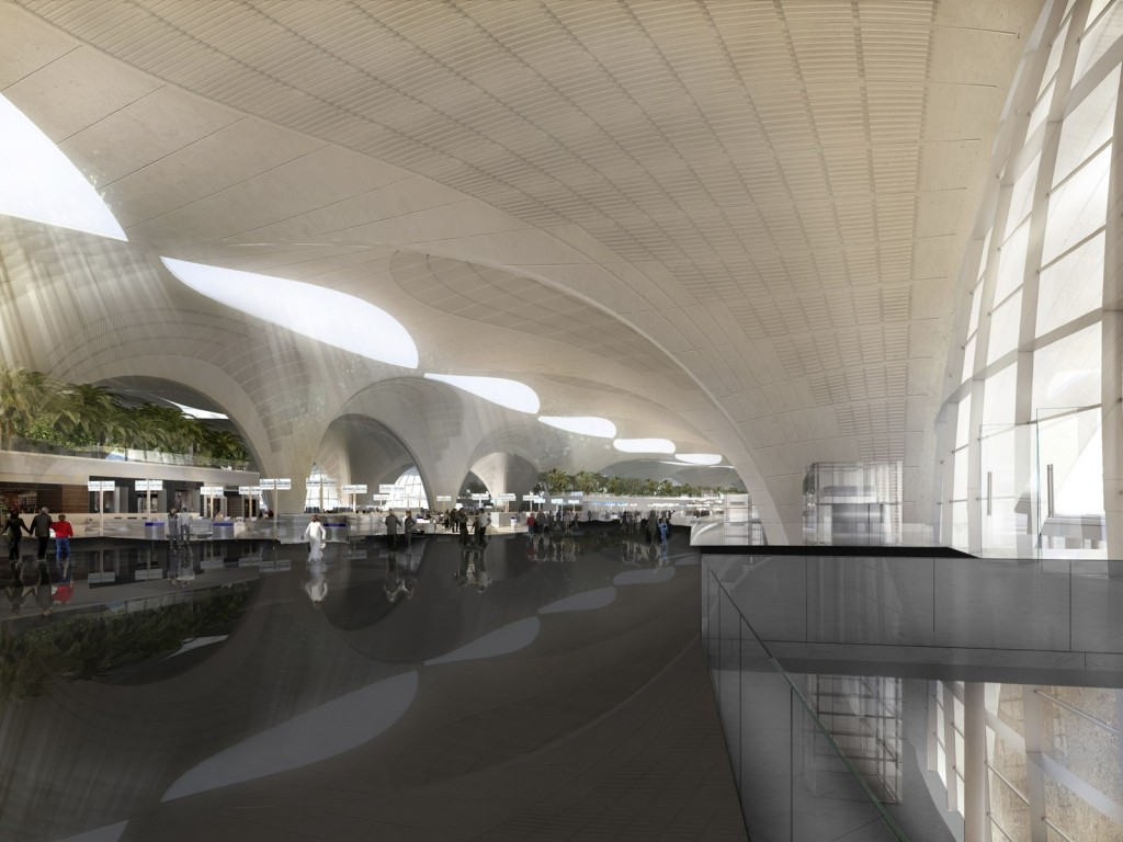 Kuwait International Airport _ Foster + Partners 04