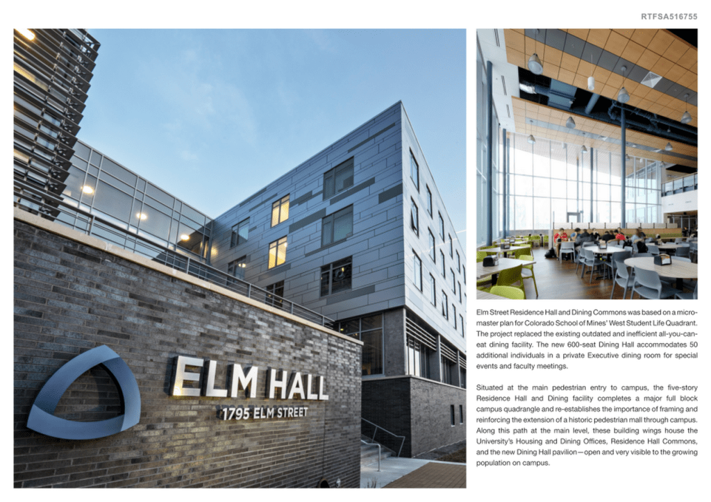 Colorado School of Mines Elm Street Residence Hall and Dining Commons (2)