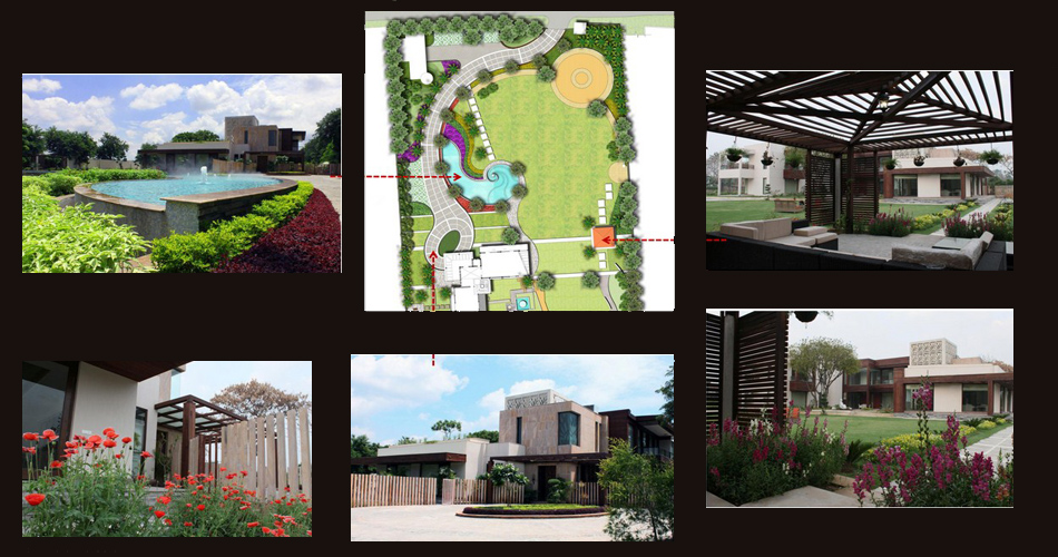 Farmhouse in delhi india quintessence landscape architecture Farmhouse design india