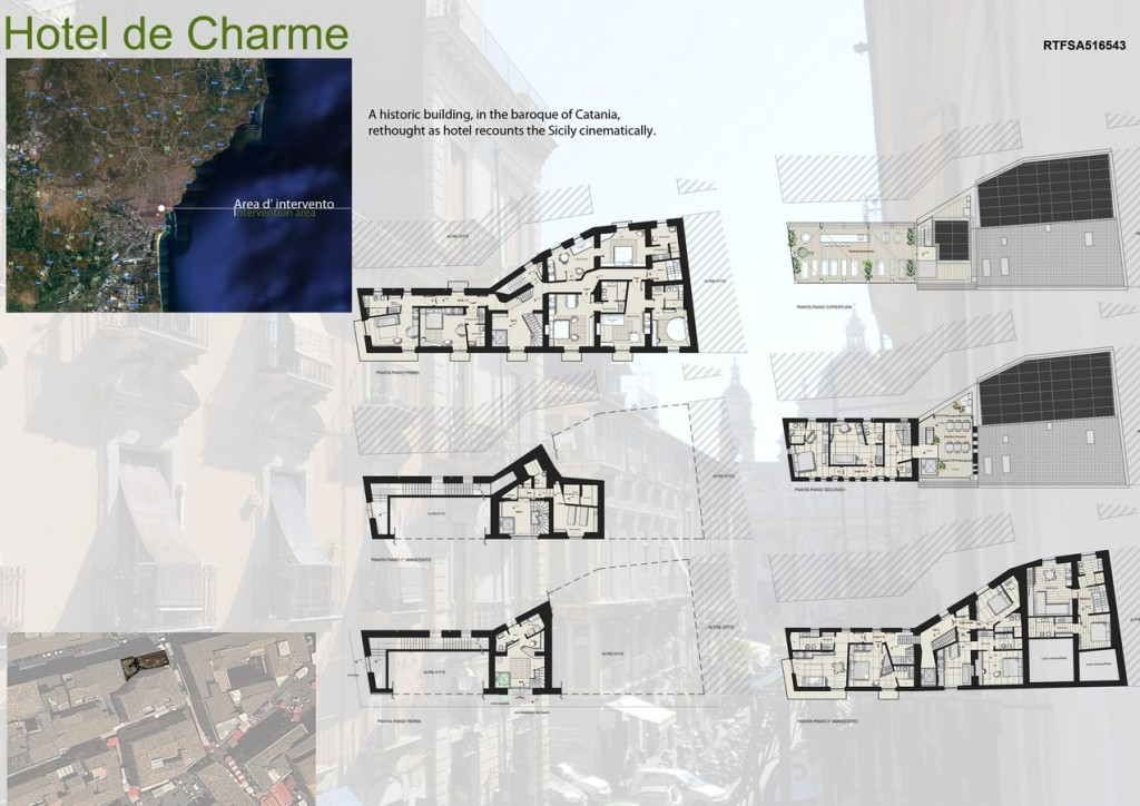 Hotel de Charme By Scannella Architects