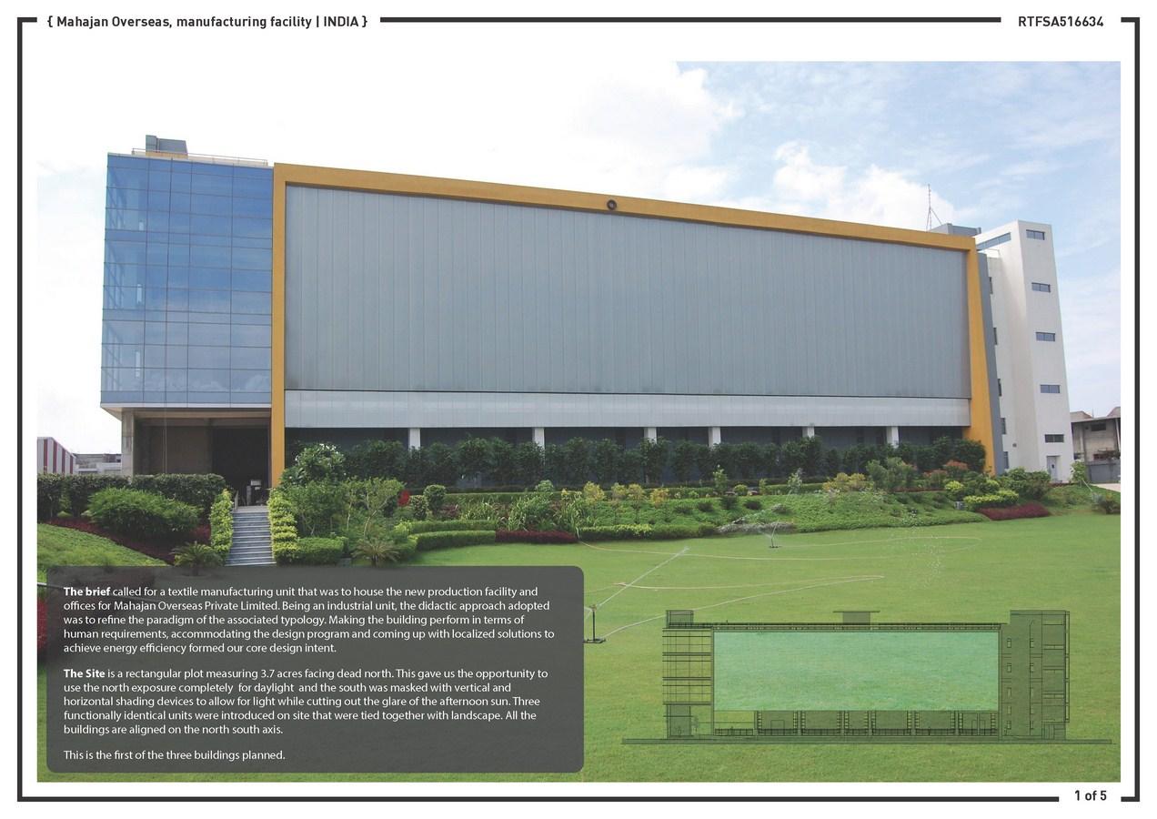 mahajan overseas production office building design collab