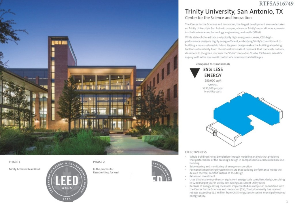 Trinity University - Center for Sciences and Innovation (1)