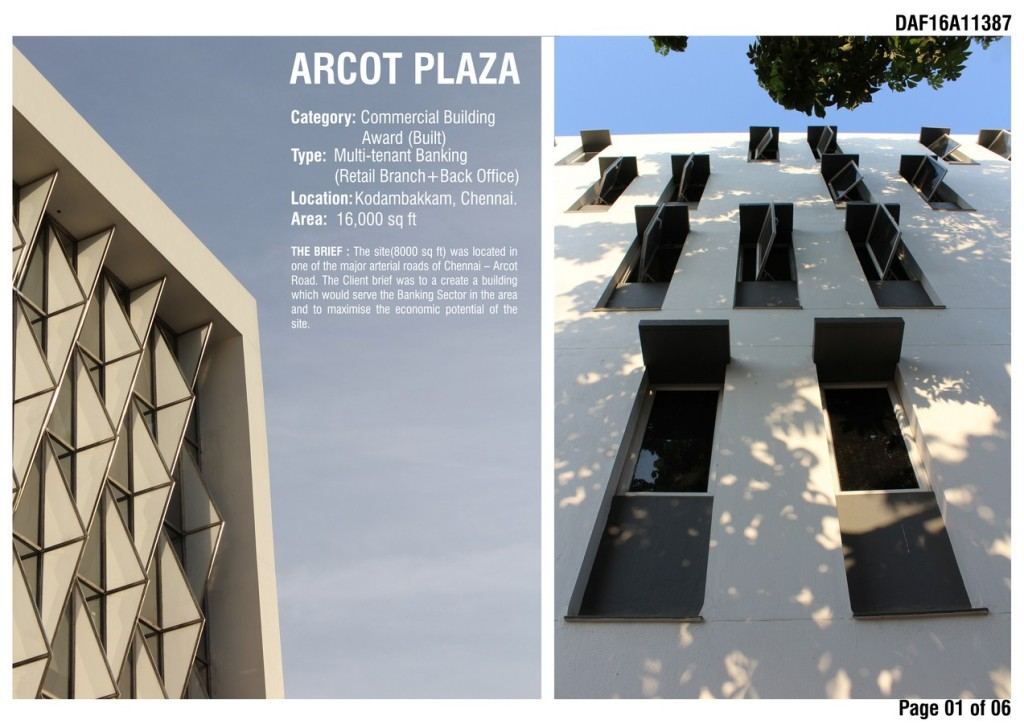 1 Arcot Plaza Cover