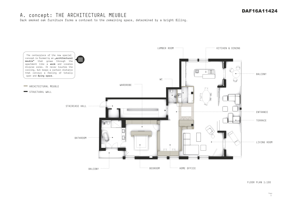 Apartment Z - A Flowing Space Continuum (2)