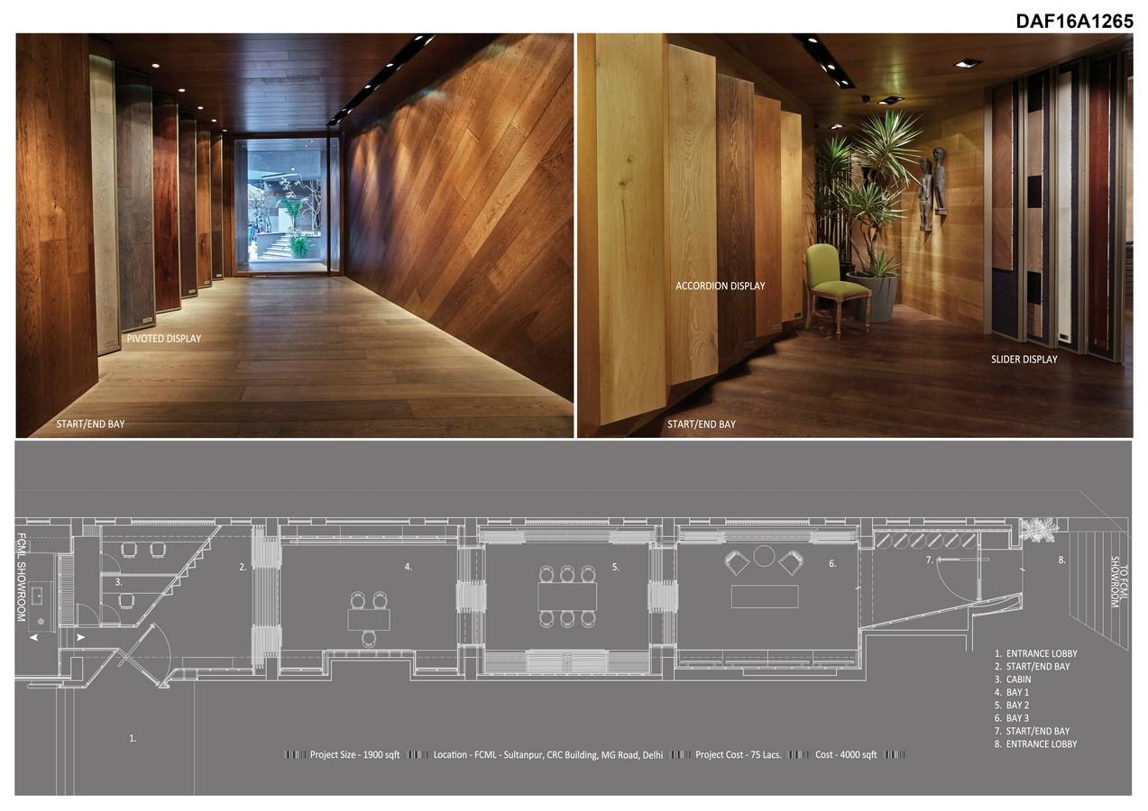 Fcml wood floor showroom iaad its all about design for Hardwood floor showroom