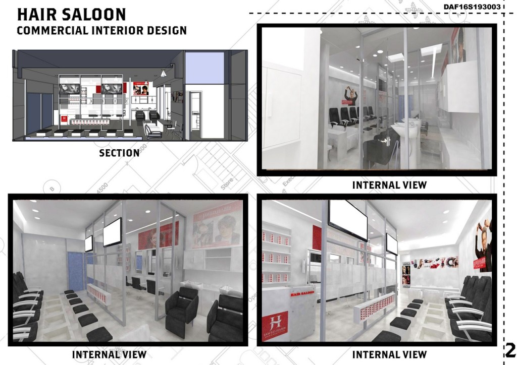 Hair Saloon-Commercial Interior Design (2)