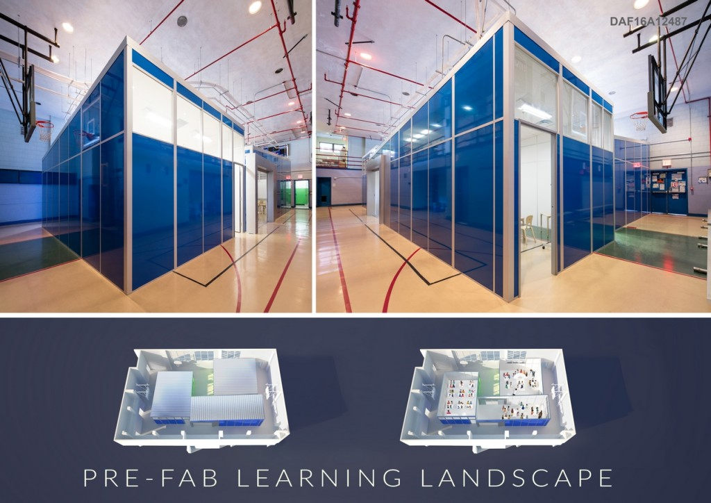 Pre-Fab Learning Landscape By Louise Braverman Architect