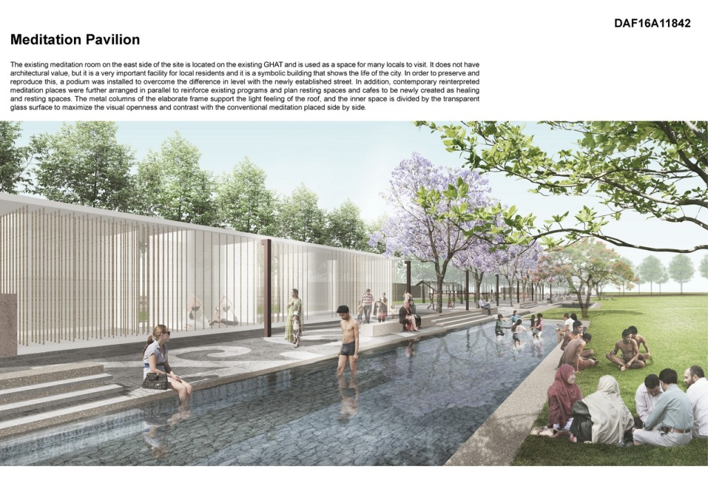 Queen Huh Memorial Park By Simplex Architecture
