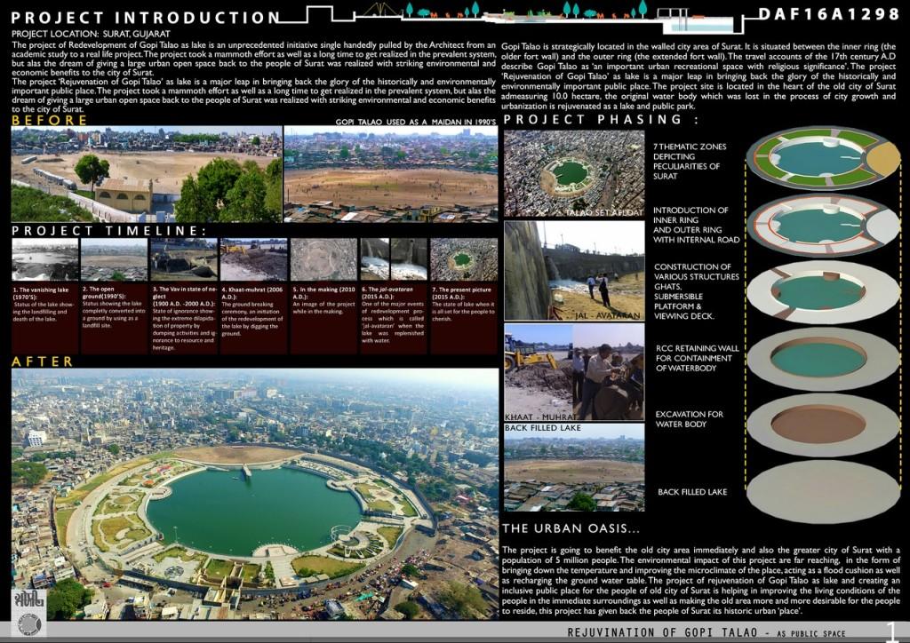 Rejuvenation Of Gopi Talao As A Public Space (1)
