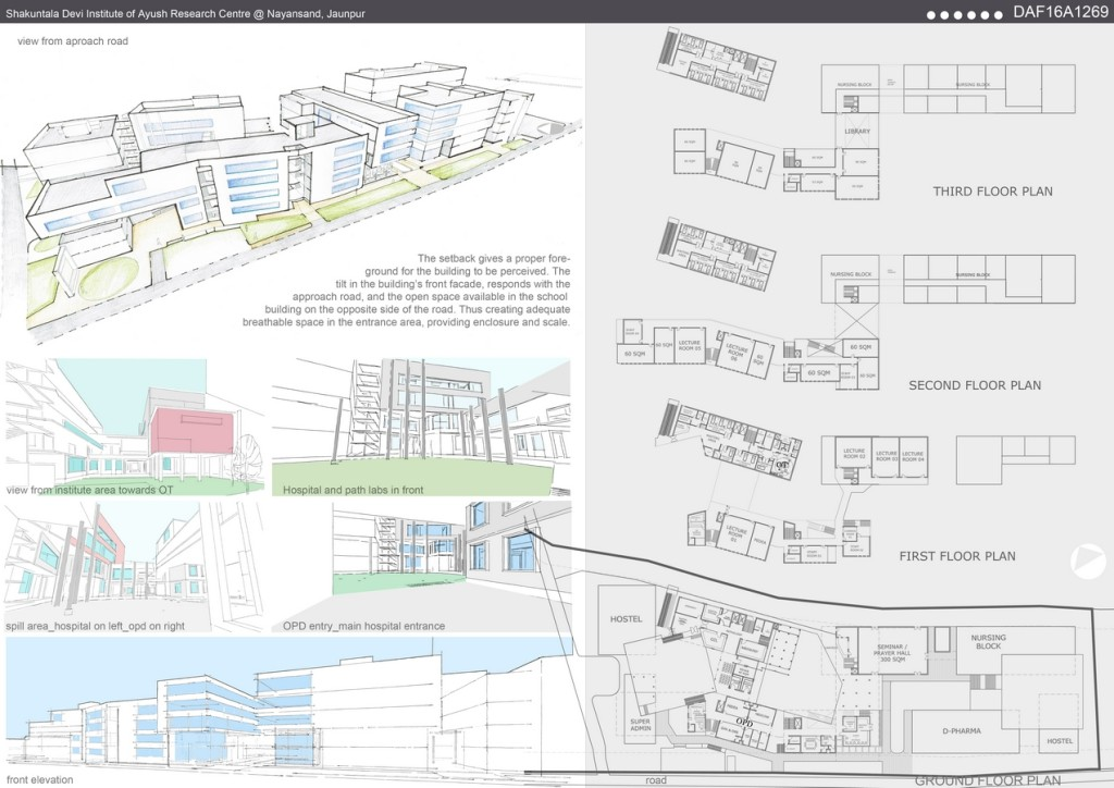 Shakuntala Devi Institute Of Ayush Research Centre By Studio Collaborative Urban Research In Environment