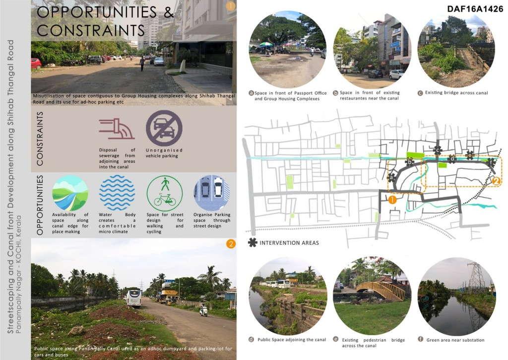 Streetscaping And Canal Front Development Along Shihab Thangal Road, Panampilly Nagar In Kochi (2)