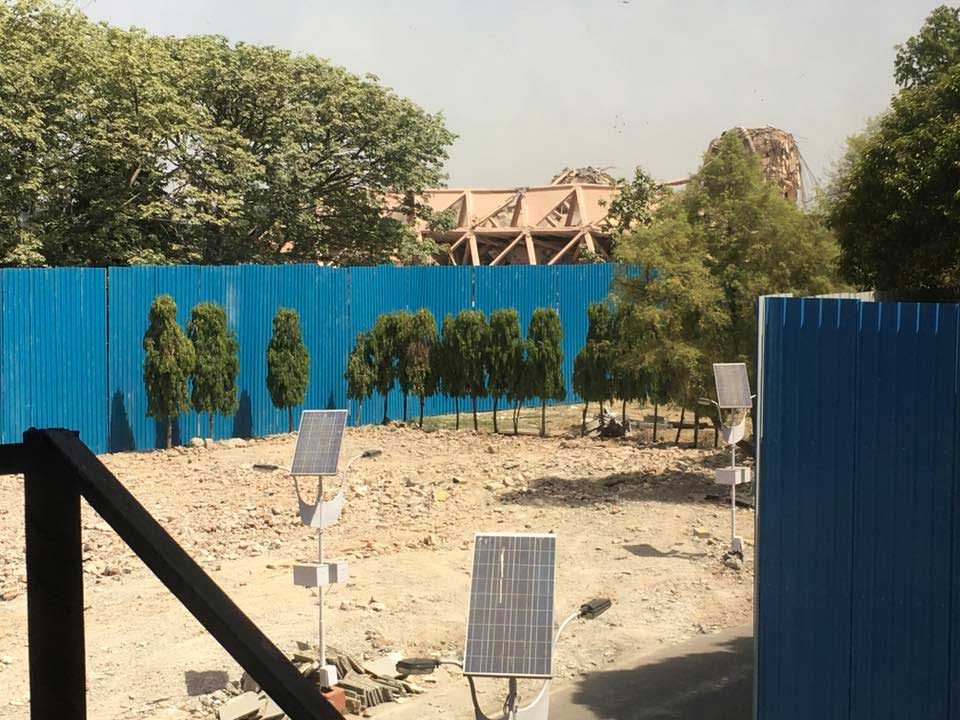 Raj Rewal's Hall of Nations at New Delhi is Demolished - Sheet4