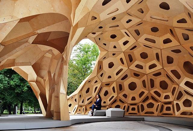Amazing Design ICD/ITKE Research Pavilion - Sheet2