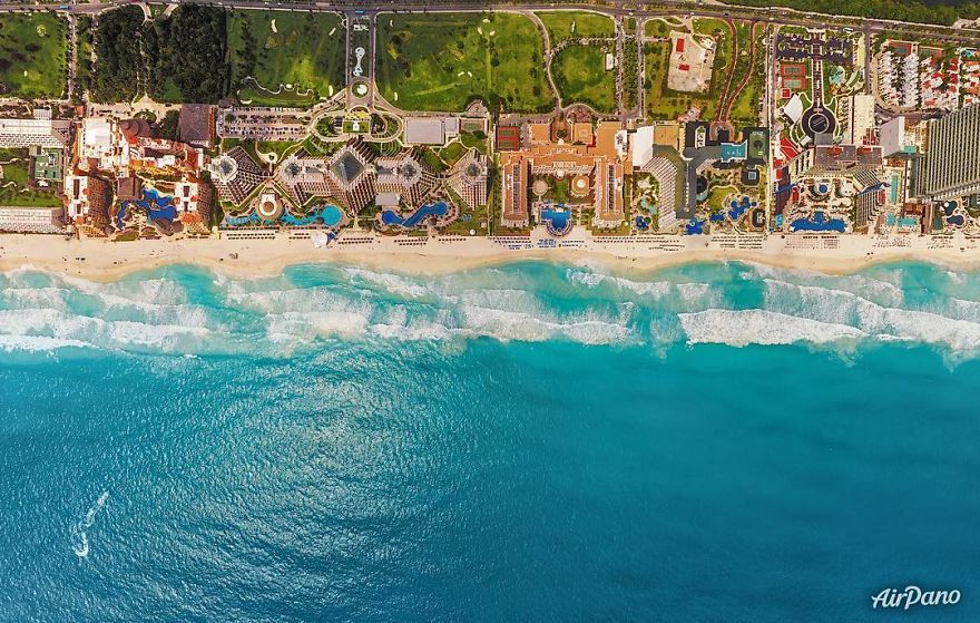 20 Great Cities Like You've Probably Never Seen Them Before - Cancun, Mexico