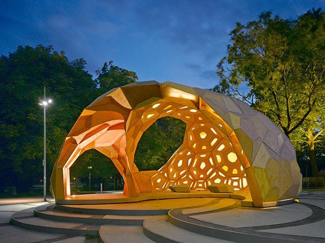 Amazing Design ICD/ITKE Research Pavilion - Sheet3