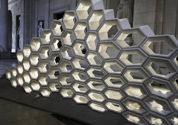 Awesome Digital Tectonics Robotically Milled Wall By Carnegie Mellon University - Sheet2