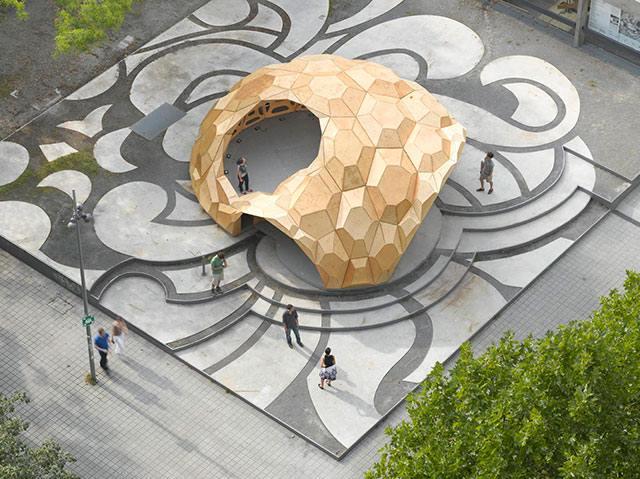 Amazing Design ICD/ITKE Research Pavilion - Sheet1