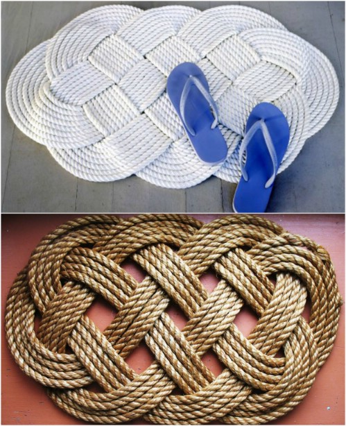 Beautiful and Stylish Rope Projects - Braided Mat