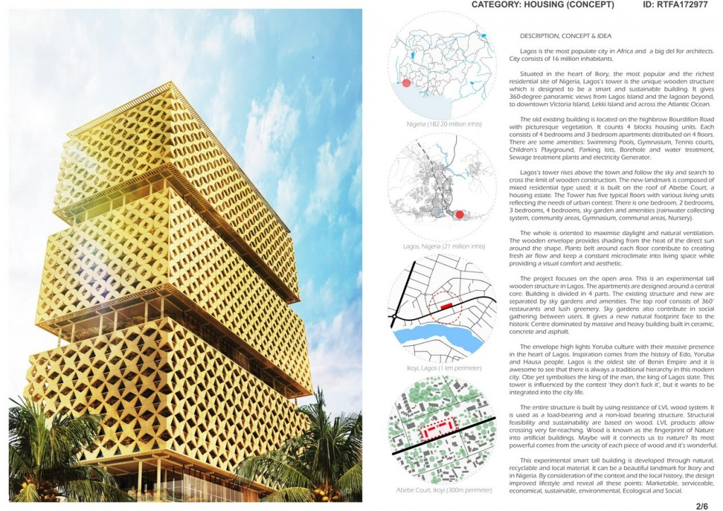 Lagos's Wooden Tower (2)