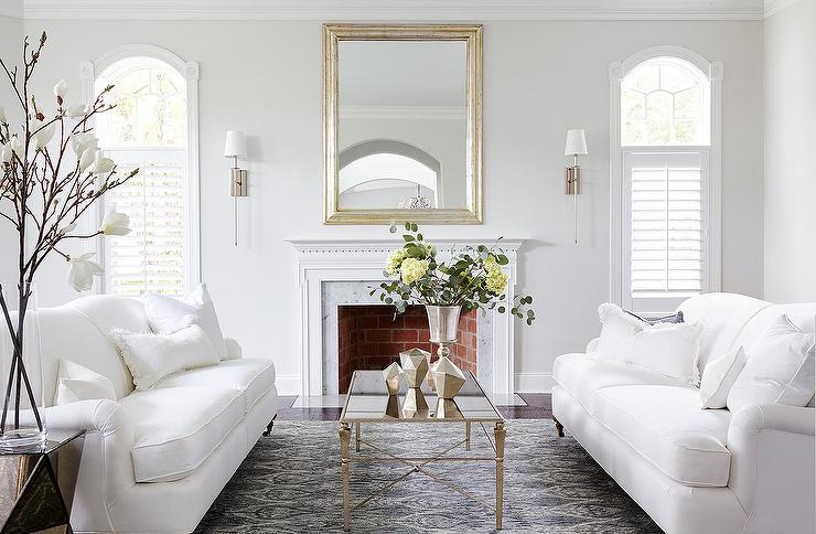 10 Elegant Living Room Color Schemes - Luxurious Marble and Gold