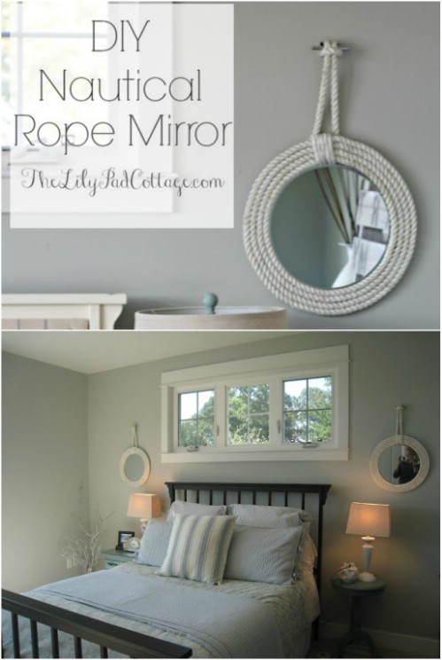 Beautiful and Stylish Rope Projects - Mirror Frame