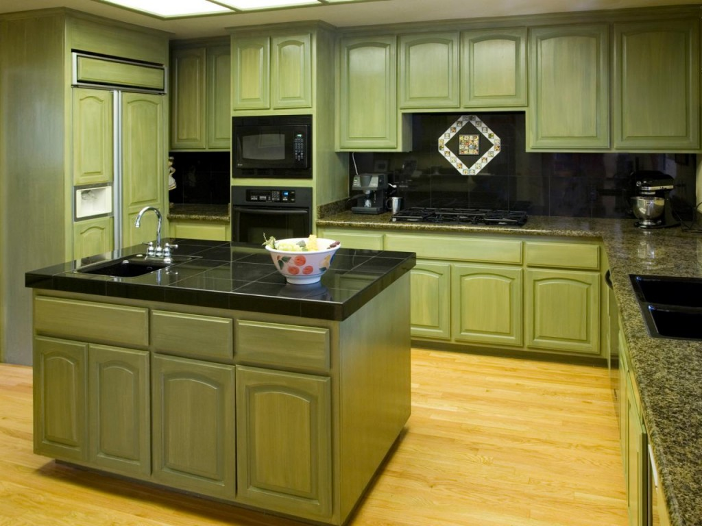 10 Amazing Colorful Kitchens To Inspire You - Green Cabinets