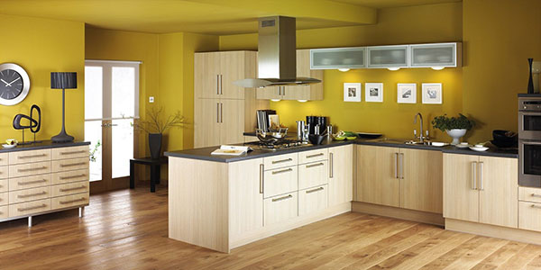 #7Mustard Yellow Kitchen