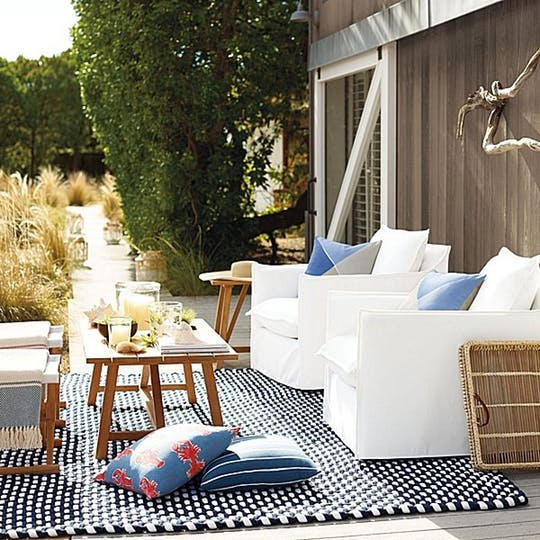 Beautiful and Stylish Rope Projects - Outdoor Rope Rug