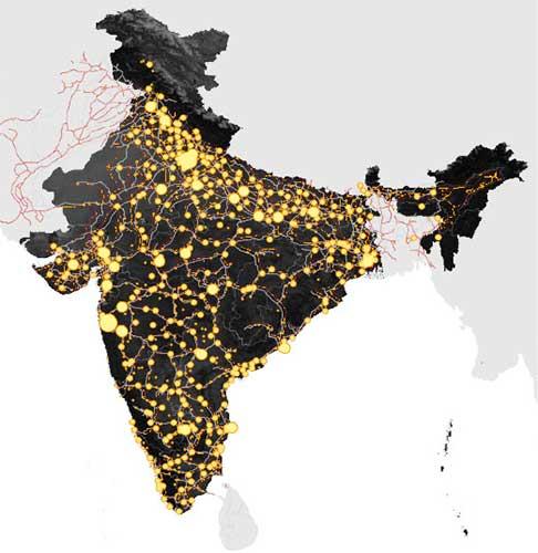 Urban Centers in India