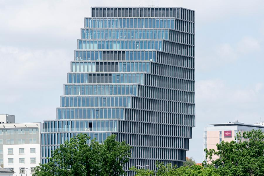An Office Building that looks radically different from every side - Sheet7