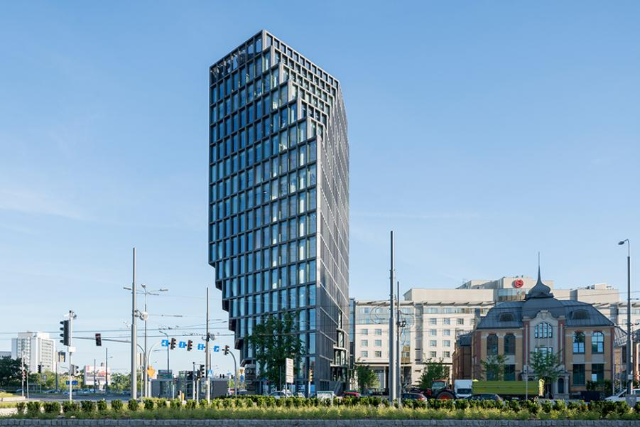 An Office Building that looks radically different from every side - Sheet11