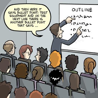 presentation-skills-of-PhD-students-practice-bullet-points