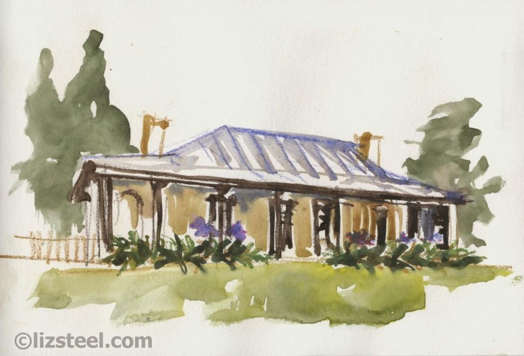 s141212 07 SketchingNow Harris Park Hambleton Cottage
