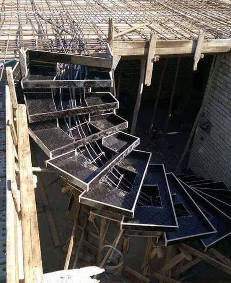 The Art Of Concrete Stairs Construction Art Build The