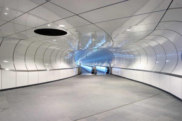 These 10 Metro Station Designs Will Take You To Another Universe - Metro Station Wilhelminaplein, Rotterdam, Netherlands