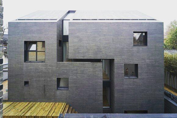 Concrete Slit House By AZL Architects - Sheet3