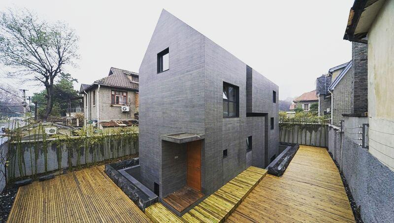 Concrete Slit House By AZL Architects - Sheet1
